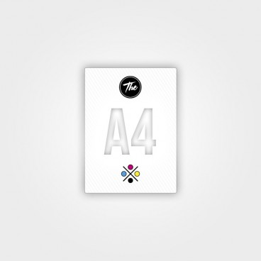 Carteles A4 (30x21cm folio)